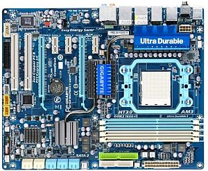 """gigabyte Gigabyte Introduces """"GA MA790FXT UD5P"""" AMD AM3 Motherboard In India"""