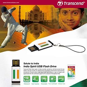 transcend usb Transcend launches India Spirit USB Flash Drive In India!