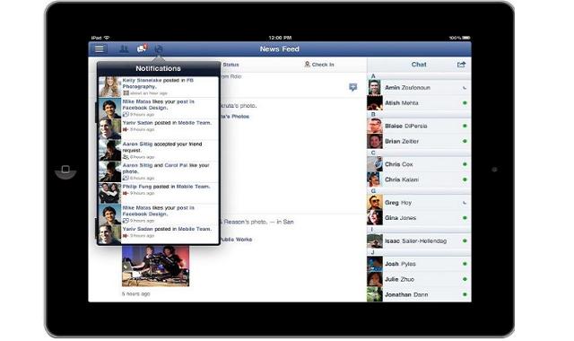 Facebook For iPad Facebook For iPad Finally Arrives!