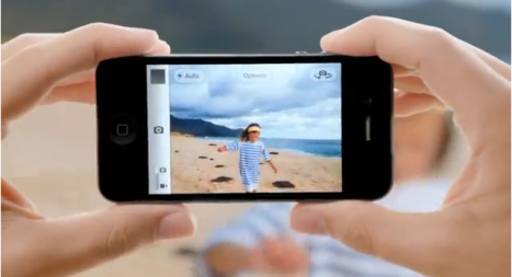 1 467x253 iCloud, Siri And 8 MP Camera Figure Among Apples iPhone 4S Ads!
