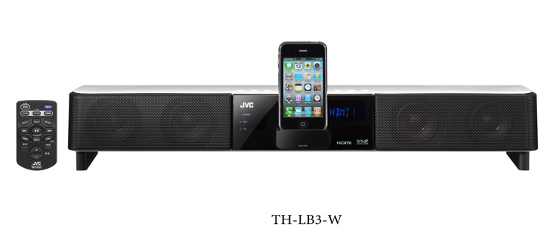Image18 JVC Kenwood TH LB1, TH LB2 and TH LB3   Three New iPod Compatible Bar Sound From JVC Kenwood!