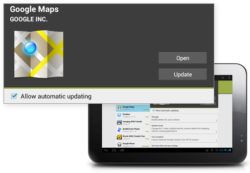 features 4 3 Google Play   One Hub For All Your Applications!