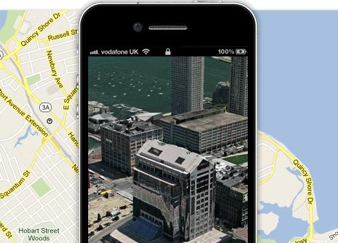 apple2 iPhone 4S Now With 3D Maps!