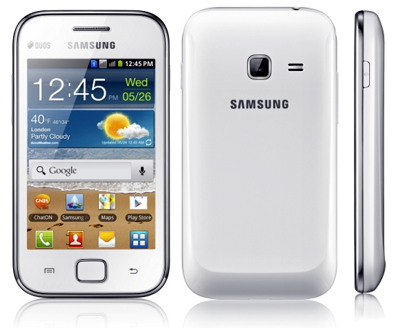 sam Samsung Galaxy Ace Duos priced at Rs. 15,090!