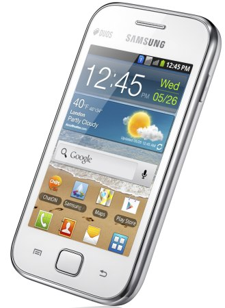 sam1 Samsung Galaxy Ace Duos priced at Rs. 15,090!