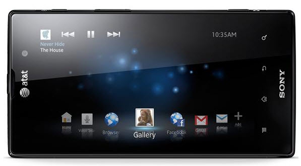 xperia2 Sony to Launch Xperia ion with AT&T by June 24!