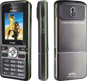 spice launches s 820 Spice Launches S 820 Mobile Phone with Yamaha Audio Amplifier for Indian Market!
